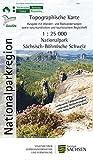 Nationalpark Sächsisch-Böhmische Schweiz: Nationalparkkarte / Wanderkarte 1:25 000, Ausgabe mit Wander- und Radwanderwegen sowie naturkundlichem und ... Freizeitkarten Sachsen 1:25 000)