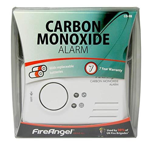 Fireangel CO-9B Carbon Monoxide, White 1