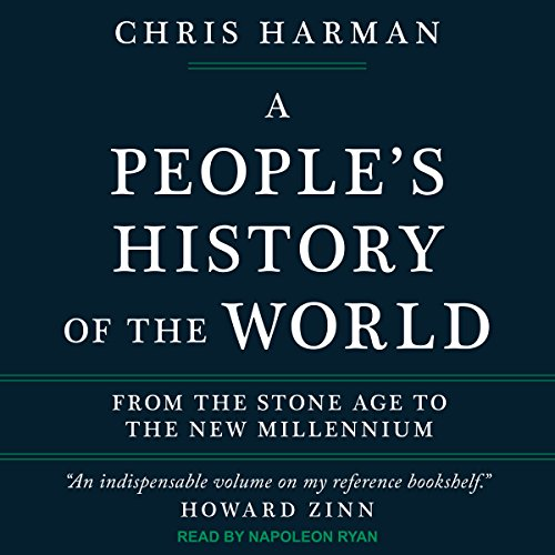 A People's History of the World audiobook cover art