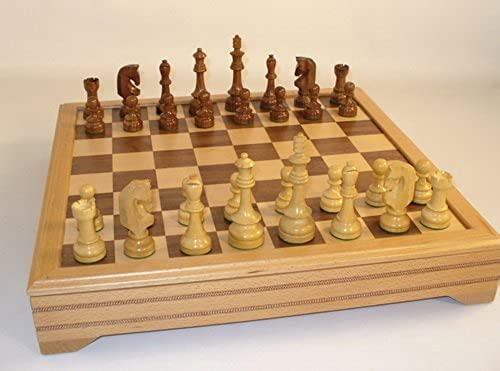 Traditional Russian with Chest Chess Set by WorldWise Chess