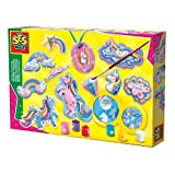 SES Creative- Moldear y Pintar Figura de Unicornios de fundición y Pintura, Color Mixto (...