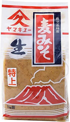 久保醸造 ヤマキュー 麦みそ 1kg ×2個