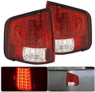 LED Tail Lights Lamps Assembly Set Pair For Chevy Chevrolet S10 Gmc Sonoma Isuzu Homre 1994 1995 1996 1997 1998 1999 2000 2001 2002 2003 2004 94 95 96 97 98 99 00 01 02 03 04