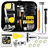 Watch Repair Kit, Watch Case Opener Spring Bar Tools, Watch Battery Replacement Tool Kit, Watch Band Link Pin...