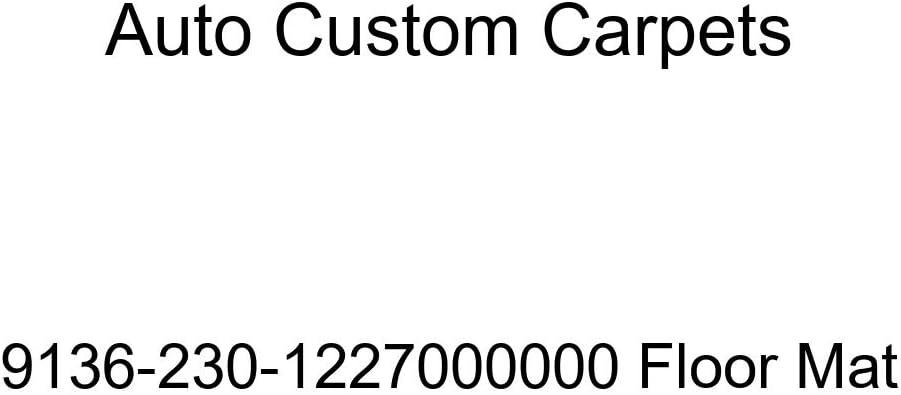 Auto Ranking TOP9 Custom Carpets 9136-230-1227000000 Floor Mat Max 88% OFF