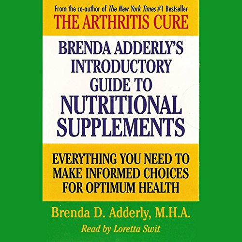 Brenda Adderly's Introductory Guide to Nutritional Supplements audiobook cover art