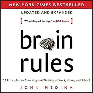 Brain Rules (Updated and Expanded) audiobook cover art