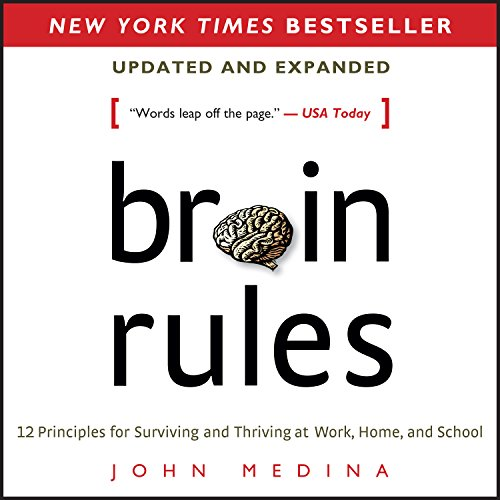 Couverture de Brain Rules (Updated and Expanded)