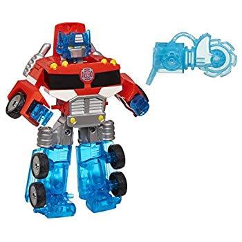 Playskool Heroes Transformers Rescue Bots Energize Optimus Prime Action Figure Ages 3-7  Amazon Exclusive