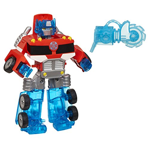 Playskool Heroes Transformers Rescue Bots Energize Optimus Prime Action Figure,...