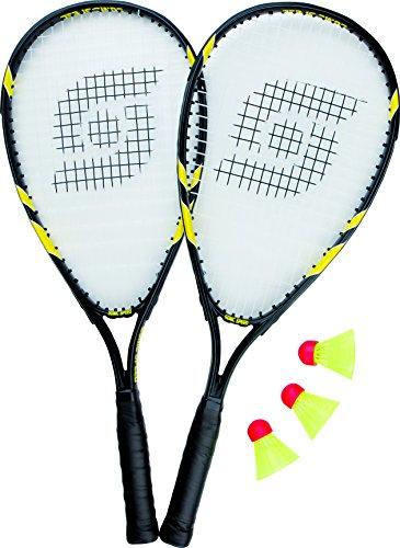 Sunflex Badmintonset SONIC SPEED, schwarz/Gelb, 58.5