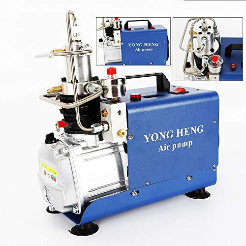 Kompressor Hochdruck-Druckluftpumpe Elektrischer Luftkompressor 1,8KW 30Mpa 4500psi 220V, PCP-Luftpumpe für Druckluftpistole