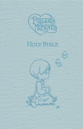 Precious Moments Holy Bible - Blue Edition by Thomas Nelson(2010-10-11)