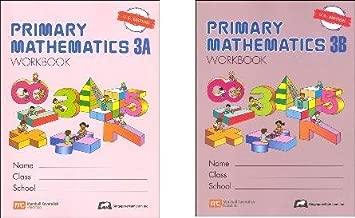 Primary Mathematics Grade 3 WORKBOOK SET--3A and 3B