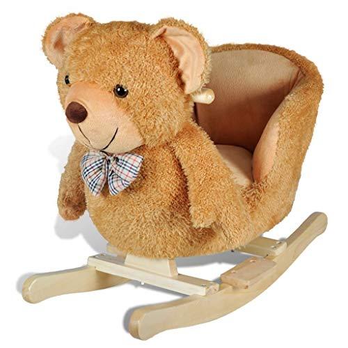 vidaXL Animal de Ours Teddy à Bascule