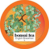 Bonsai Tea Co. English Breakfast, Compatible with 2.0 Keurig K Cup Brewers, 100Count