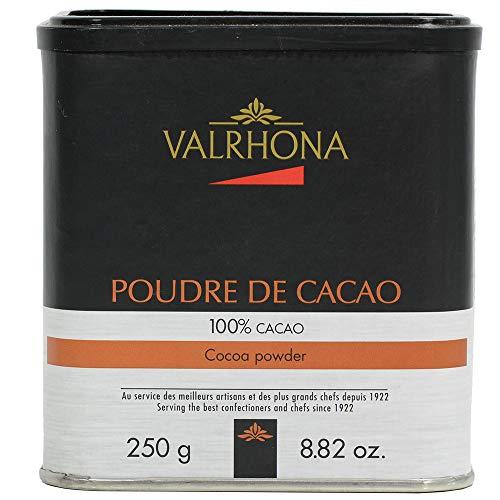 Valrhona Cocoa Powder - 100% Pure Cocoa - 0.25 Kilo