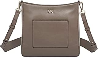 MICHAEL Michael Kors Gloria Pocket Swing Pack Crossbody Mushroom