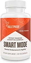 Bulletproof Smart Mode for Brain Health, Memory, Attention, & Performance, Nootropic Supplement Blend of 10 Scientifically...