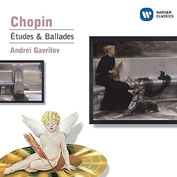 Chopin: Etudes; Ballades Nos. 1 & 2