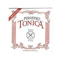 Tonica トニカ ヴァイオリン弦 E線 シルヴァリースチール 4/4 ボールエンド 312721