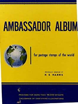 Hardcover Ambassador Album for Postage Stamps of the World Book