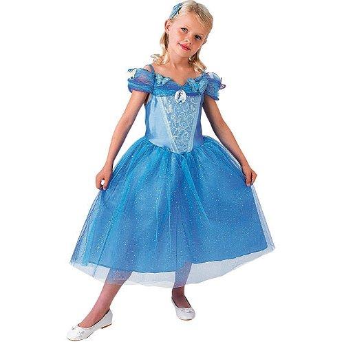 Rubie's-déguisement officiel - Disney- Déguisement Pour Enfant Panoplie Luxe Cendrillon Le Film - Taille L- 154995L