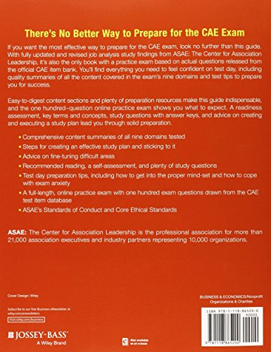 CAE Study Guide 2015: Preparation Reference for the Certified Association Executive Exam (The ASAE Series)