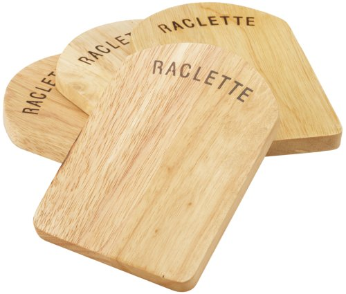 kela Tablero de raclette Baar 4 pcs, Wood