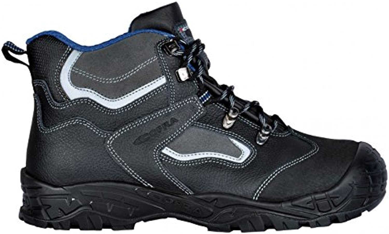 Cofra 22050-000.W47 Safety shoes Hudson Bis UK S3 SRC Size 47 in Black