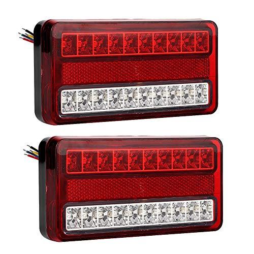Duokon Led-achterlicht, 12 V, 20 leds, voor aanhanger/auto