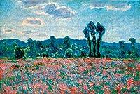 数字油絵 フレーム付き、数字キット塗り絵 手塗り DIY-大人の初心者の子供-野花-40x50 cm