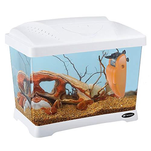 Ferplast 65010011 Aquarium CAPRI JUNIOR, afmetingen: 41 x 26,5 x 34 cm, 21 liter, wit