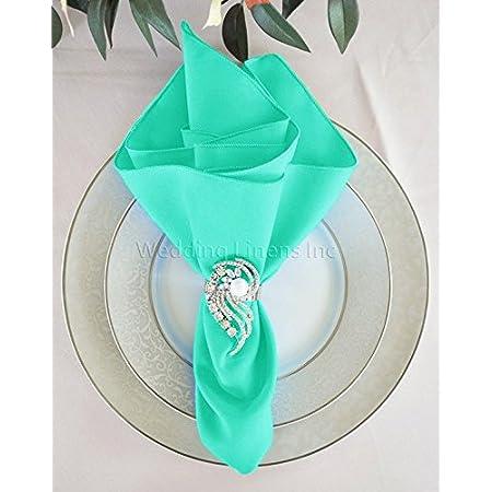 Napkins Linen Wedding Restaurant Hotel Party Table Cloth Tableware Serviette