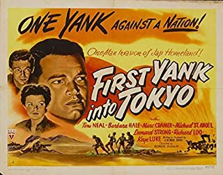 First Yank Into Tokyo (Half Sheet ) POSTER (22