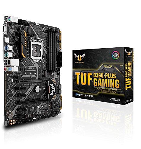 ASUS moederbord Intel TUF B360-PLUS GAMING LGA1151 DDR4 PCI-E 4x USB 3.0 6x USB 2.0 D-Sub HDMI GB Intel 6x SATA ATX