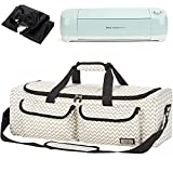 HOMEST Carrying Case Compatible with Cricut Explore Air 2, Cricut Maker, Silhouette CAMEO3, Ripple (Patent Design)