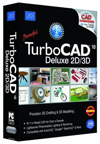 Avanquest TurboCAD 18 Deluxe - Software...