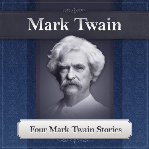 Four Mark Twain Stories audiobook cover art