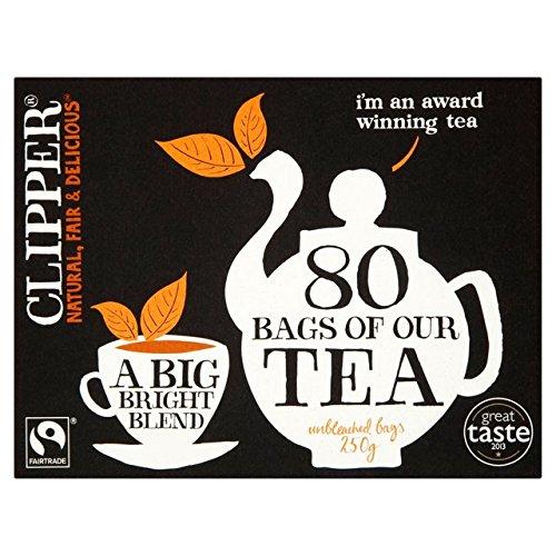 Clipper Fair Trade 80 Teabag 250G