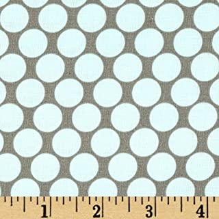 FreeSpirit Fabrics Amy Butler Lotus Full Moon Polka Dot Slate Fabric, Little Boy