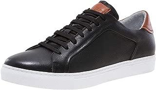 Jump Newyork Bloke-Low Black Leather Low Top Sneaker