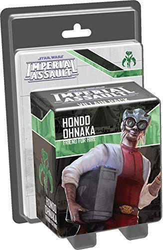Fantasy Flight Games FFGSWI58 Hondo Ohnaka Bösewicht Pack: Star Wars Imperial Assault, Mehrfarbig