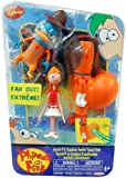 Phineas and Ferb Disney Figure Set - Agent P & Candace Tootin Space Suit