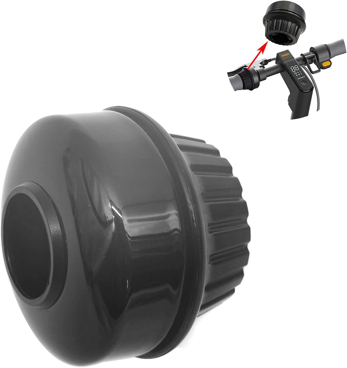 Jabroyee Campana de scooter eléctrica con sonido fuerte y nítido impermeable, anillo de scooter de plástico eléctrico Scooter Bell reemplazo para NINEBOT MAX G30