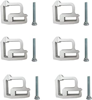 BYS Technology 6Pcs Tite Lok Truck Cap Topper Camper Shell mounting Clamps Heavy Duty TL-2002