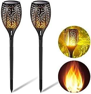UK BONITOYS Solar Torch Lights Outdoor Waterproof Solar Torche Lights