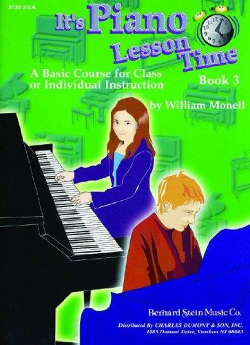It's Piano Lesson Time - Book 3