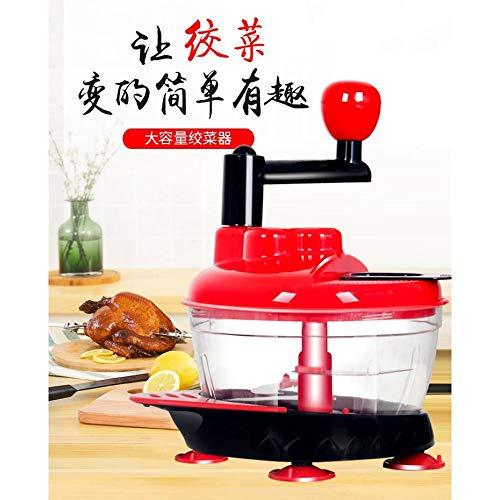 SGAN Manueller Nahrungsmittelzerhacker-große Kapazitäts-Schneidemaschine-Küchen-Zwiebel-Knoblauch-Gemüsemischer,A1
