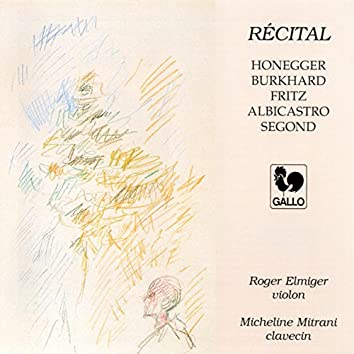 Recital of Swiss Composers for Violin & Harpsichord